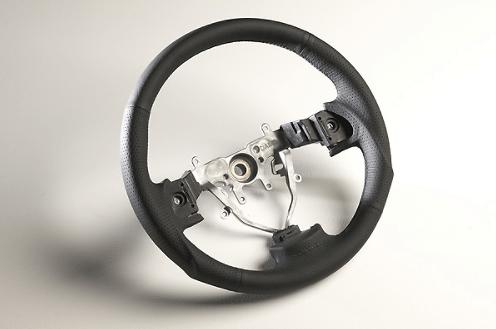 Color: Black/Black Stitch - Diameter: 358mm - Type: Round - SS358-S(F)
