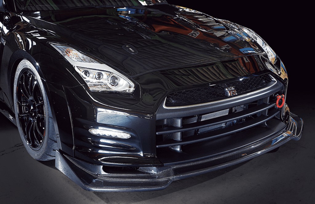 Material: FRP/Carbon - Front Bumper V2