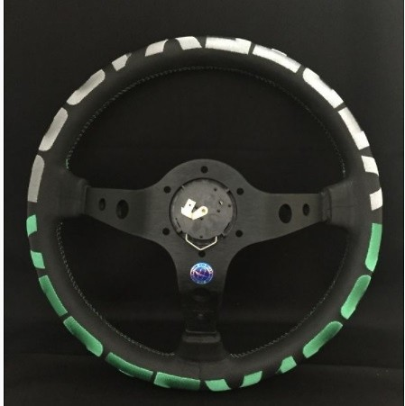 Type: 90mm Deep - Color: Black/Green-Grey - Diameter: 350mm - VSVG