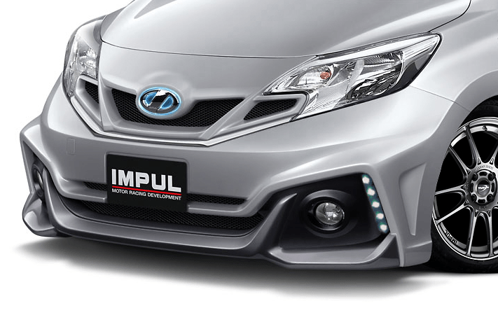Construction: FRP - Colour: Unpainted - Front Bumper