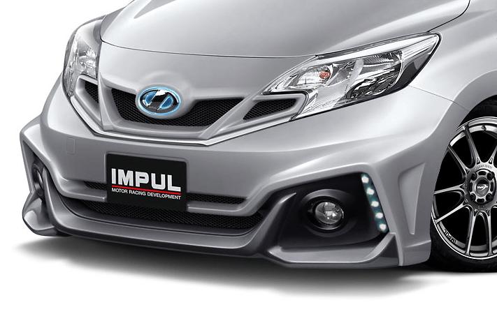 Includes IMPUL emblem, chrome panels - Construction: FRP - Colour: Unpainted - Front Grille