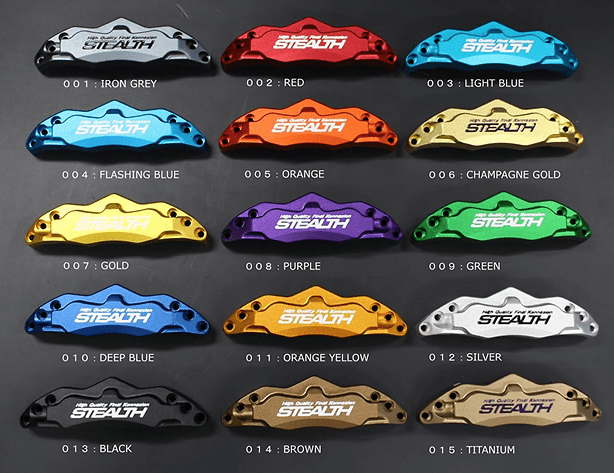 Alumite Colour Options