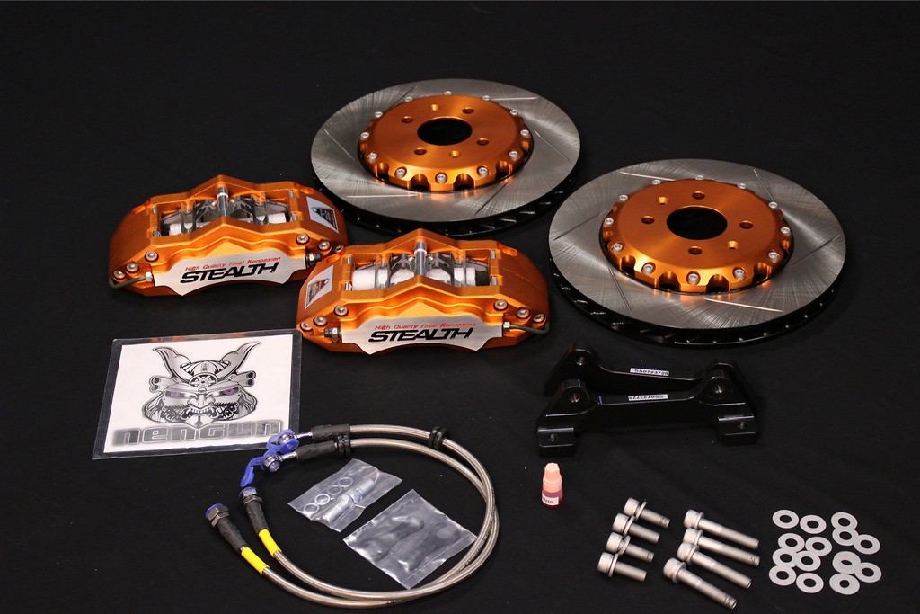 Stealth Caliper Kit and Caliper Surface Machining