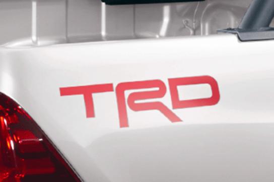 507 TRD Logo Sticker - Colour: Red - MS316-0K001
