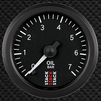 Oil pressure gauge - 6202-ST3301