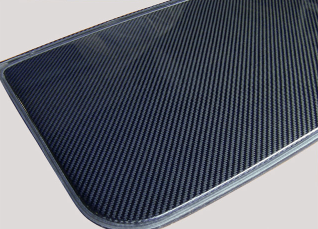 Material: Carbon - Twill Weave
