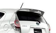 Tailgate Spoiler  - Colour: Lime white pearl CS (082) - MS316-52001-A1