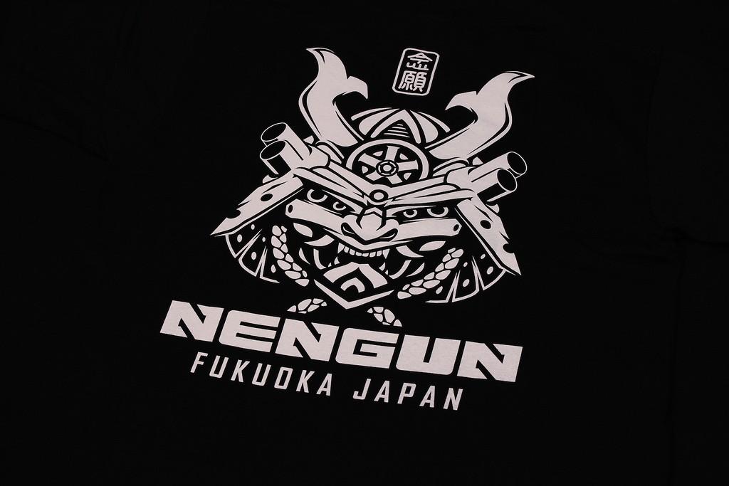 Nengun - Samurai Tee - Black