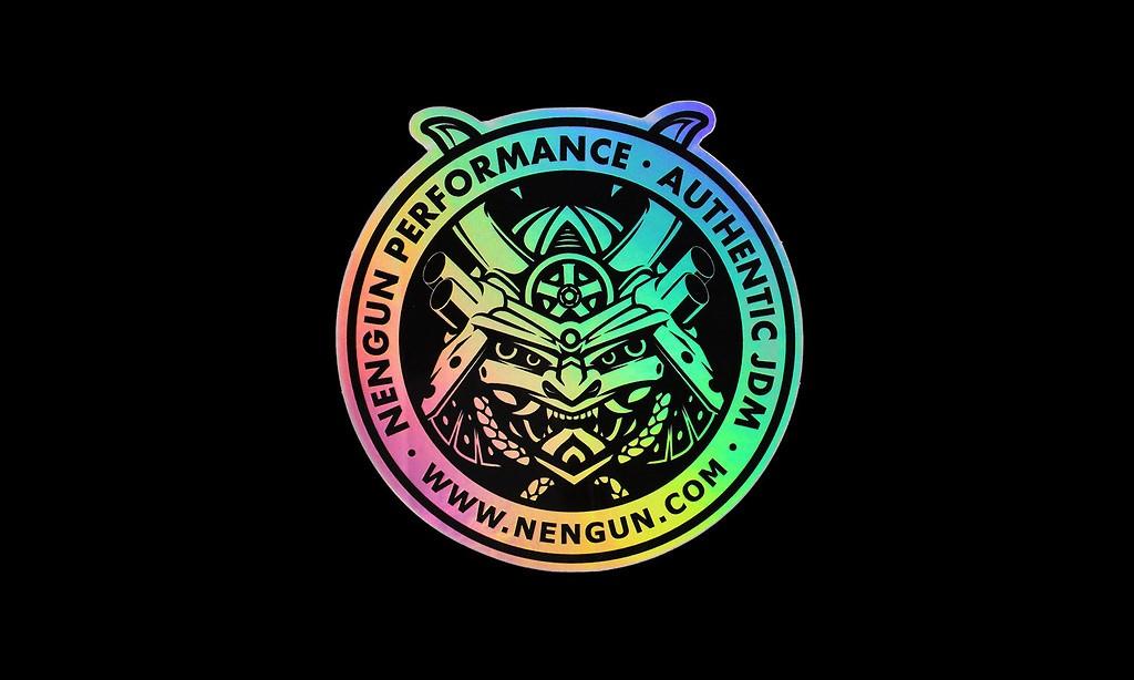 Colour: Hologram - Size: 8 x 8cm - NS003-H