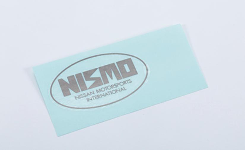 Nismo Label - Rear - OEM Part Number: 99099-06U00 - 99099-RJR20