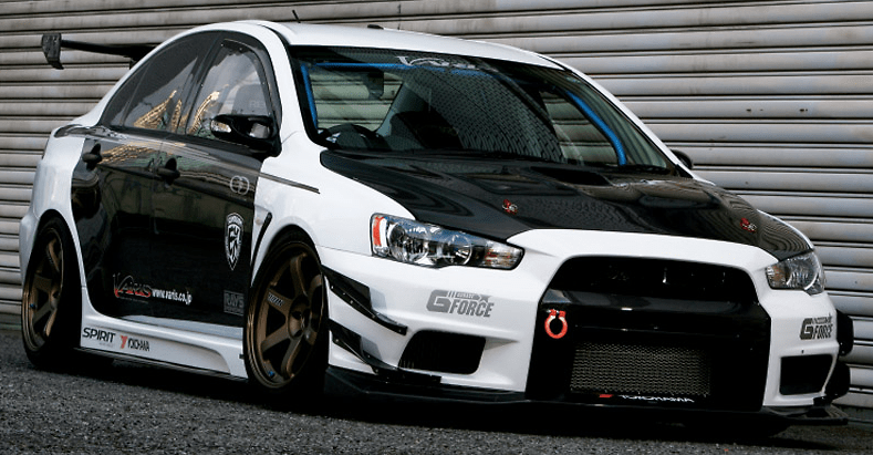 Varis - EVO X Carbon Doors