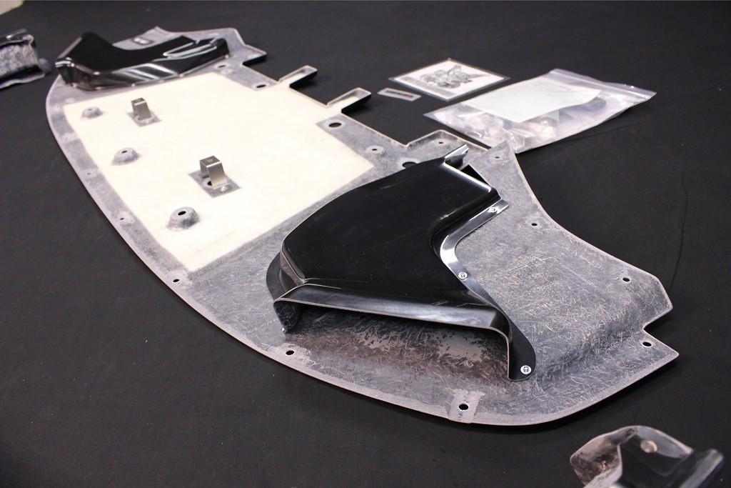 Front Under Spoiler - Construction: FRP - Colour: Unpainted - 75830-RSR50