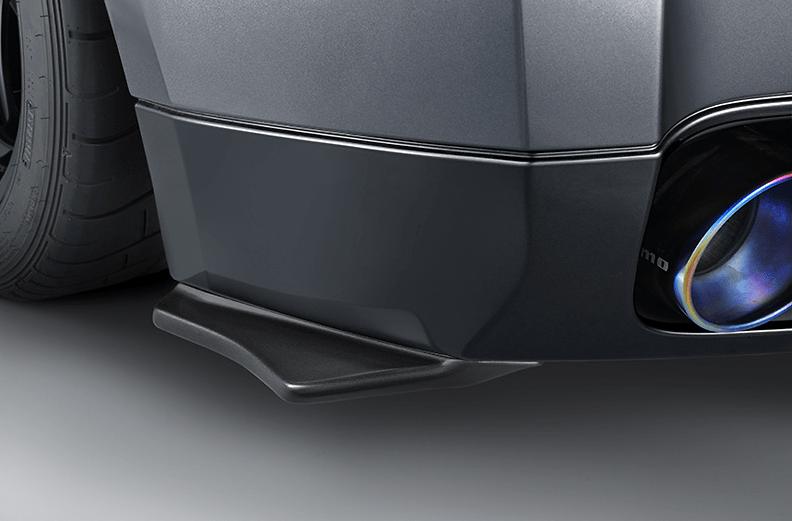 Rear Under Spoiler Set - Construction: FRP - Colour: Unpainted - Rear Under Spoiler Set