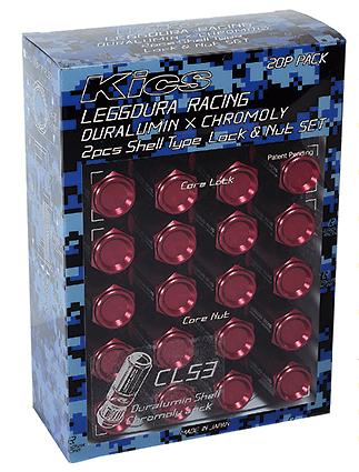 Project Kics - Leggdura Racing CL53 Lock + Nut Set