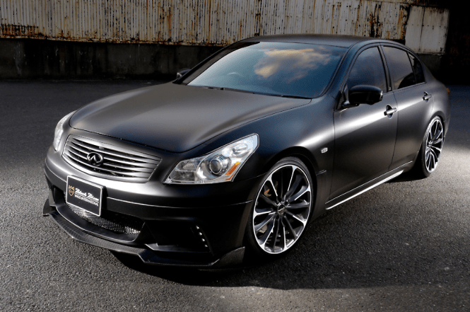 Wald - Sports Line Black Bison Edition - Nissan Skyline V36