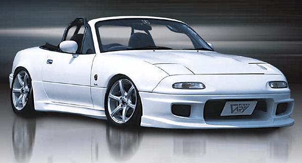 Front Bumper Spoiler Type N - Material: FRP - FBS-TN