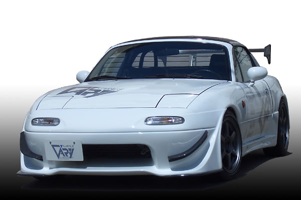 Front Bumper Spoiler without N Zero Under Panel - Material: FRP - 4134