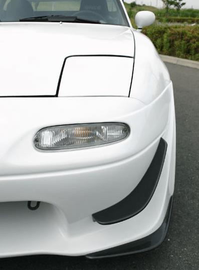 Dedicated N Zero Canards - Material: Carbon - NZC-CAR