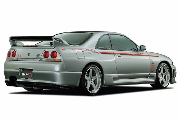 Nismo - Carbon Rear Spoiler Set - R33 GTR