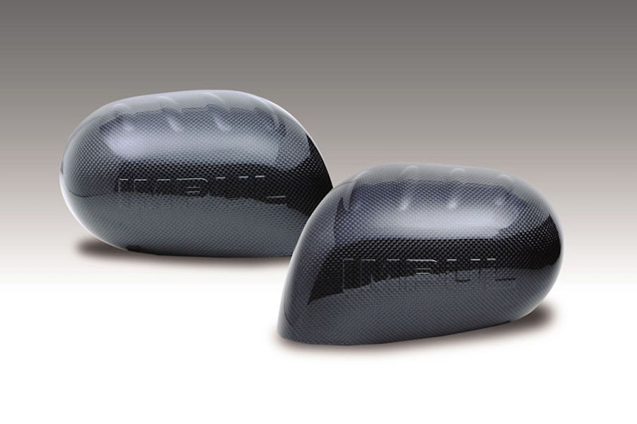 Carbon Mirror Covers - Construction: Carbon - Colour: Unpainted - IMPULAS-Z11-CMC