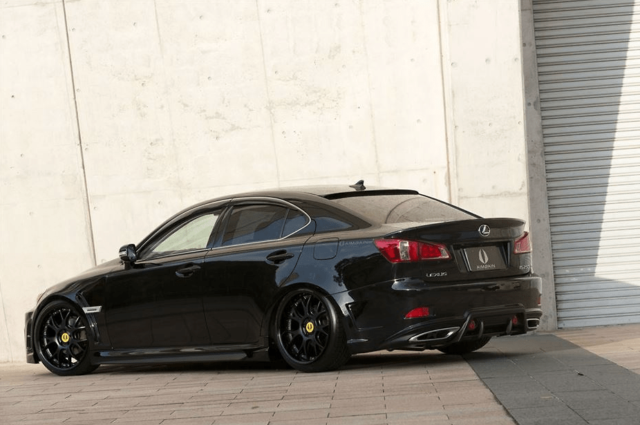 Full Kit: Front Bumper + Side Step + Rear Bumper - Construction: FRP - Colour: Unpainted - VIPGT-ISG