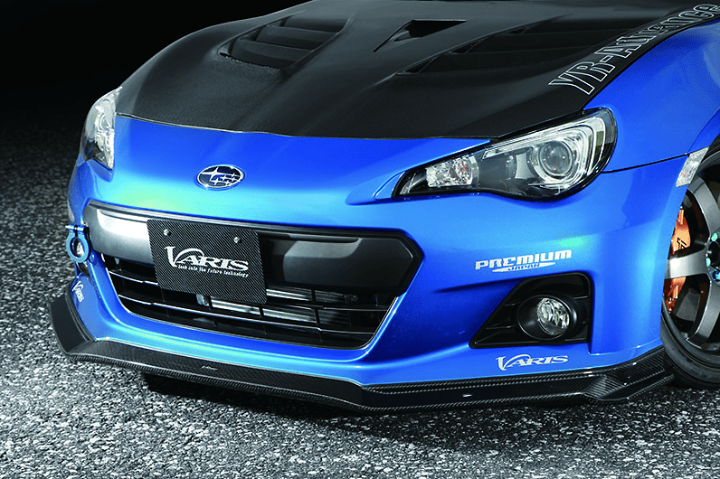 BRZ dedicated Front Spoiler - Construction: Carbon - Colour: - - VASU-144