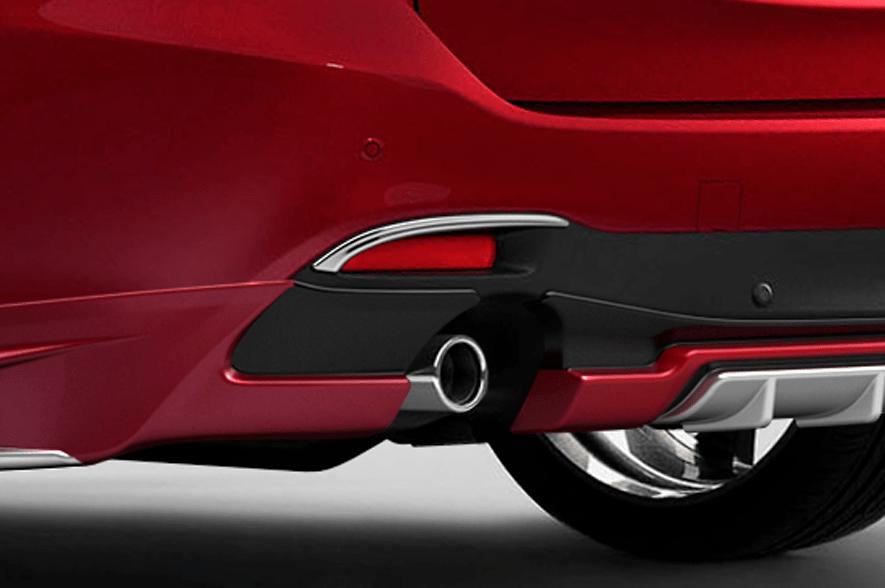 Rear Reflector Garnish - Construction: ABS - Colour: Chrome - GJ-RFG