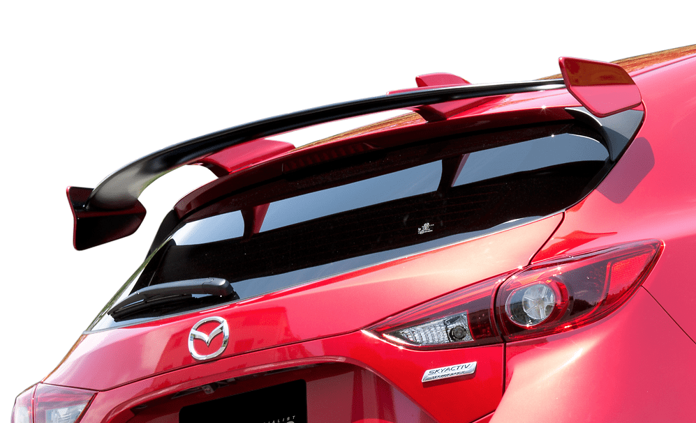 Rear Wing Spoiler - Material: FRP - Colour: Unpainted - KZD-72333