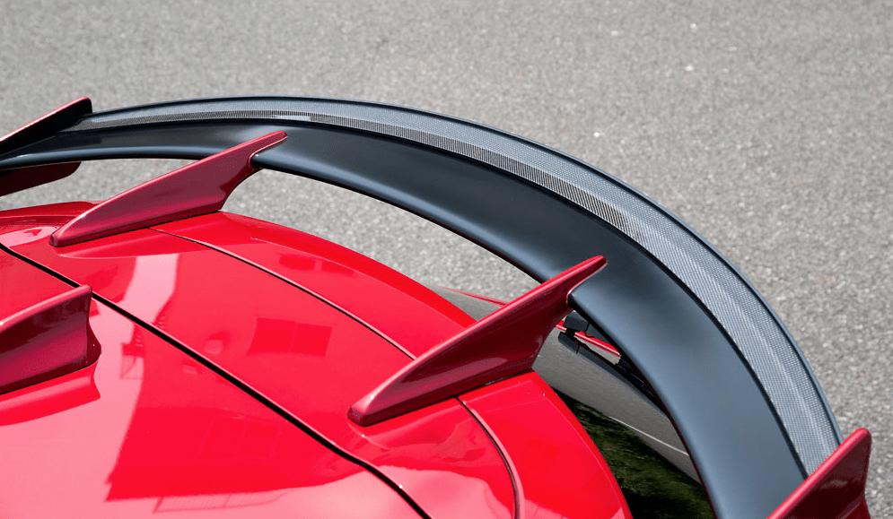 Gurney Flap - Material: Carbon - Colour: Unpainted - KZD-72334