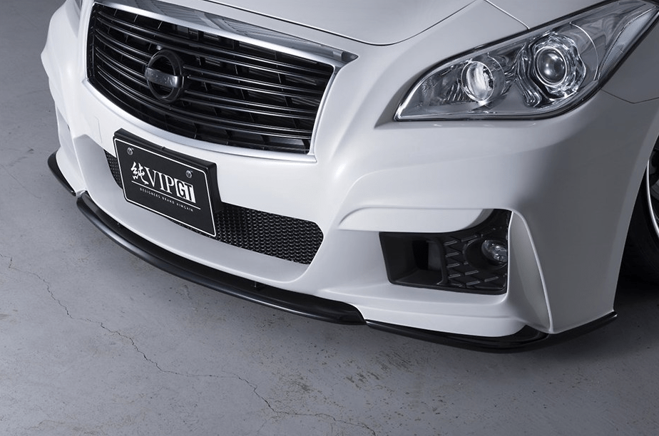 Front Bumper (LED fog lamp sold separately / 3D duct mesh included) - Construction: FRP - Colour: U