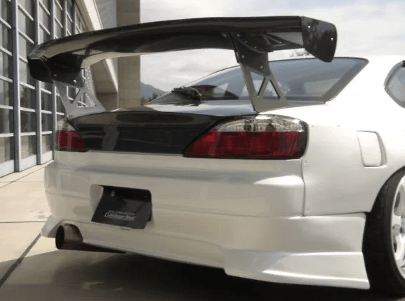 Rear Bumper - Construction: FRP - Colour: Unpainted - GM-REV-S15-T1-RB