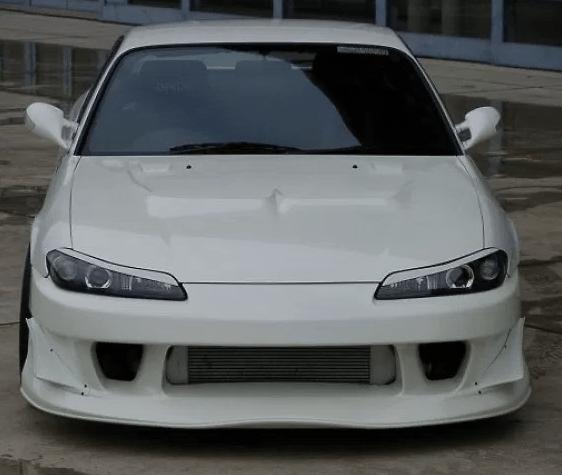 Front Bumper - Construction: FRP - Colour: Unpainted - GM-REV-S15-T2-FB