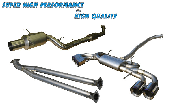 Auto Staff - Titanium Front Pipe