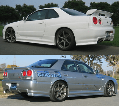 R34 Side, Rear & Under Set (2/4 Door)