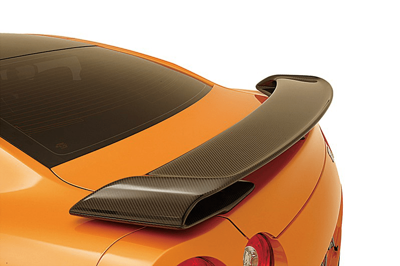 Dry Carbon Rear Wing - Construction: Dry Carbon - Colour: - - ZELE-GTR35-DCRW