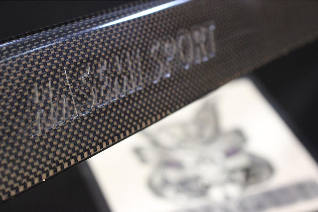 Small Rear Spoiler - Construction: Carbon - HMSR32-SRS-CFRP