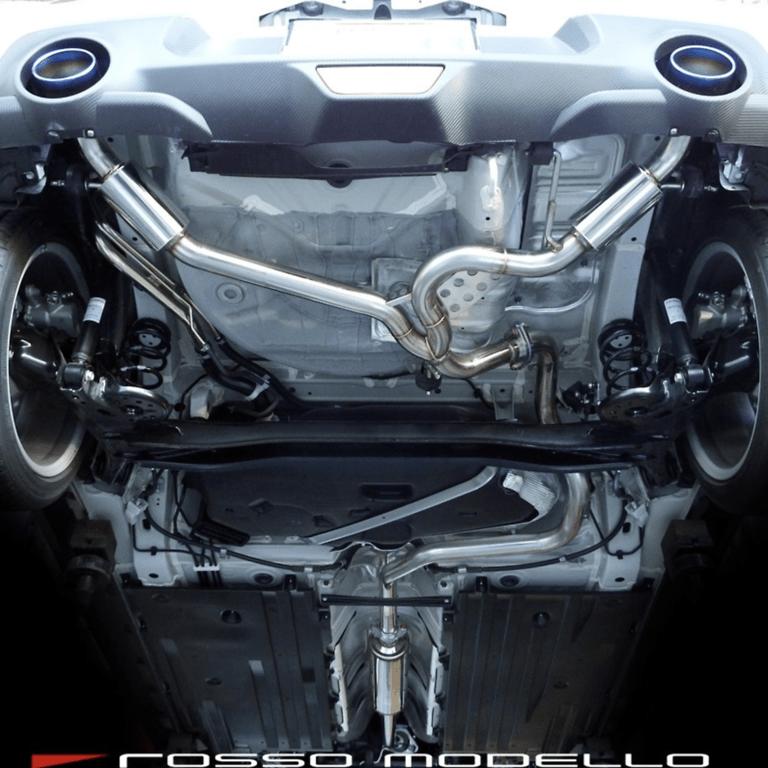 Rosso Modello - Ti-C Exhaust