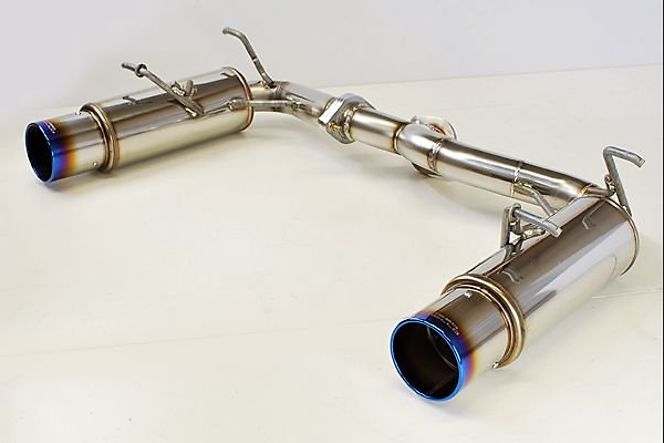 Pieces: 2 - Pipe Size: 60.5mm - Tail Size: 104mm (x2) - Tail Type: Blue - TIC-999