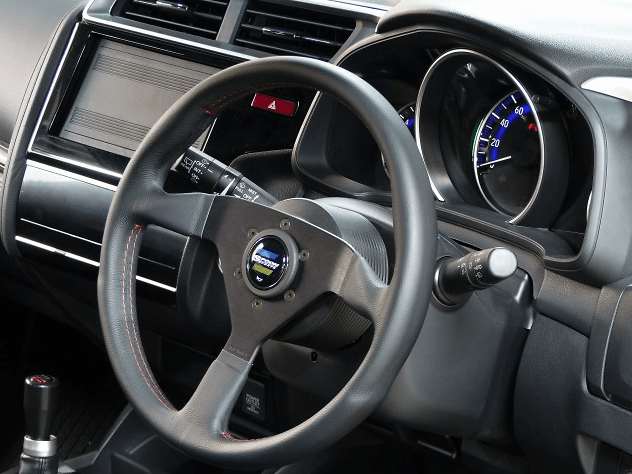 Steering with buttons can not be used (except horn) - Milled Aluminum - 78512-GK5-000