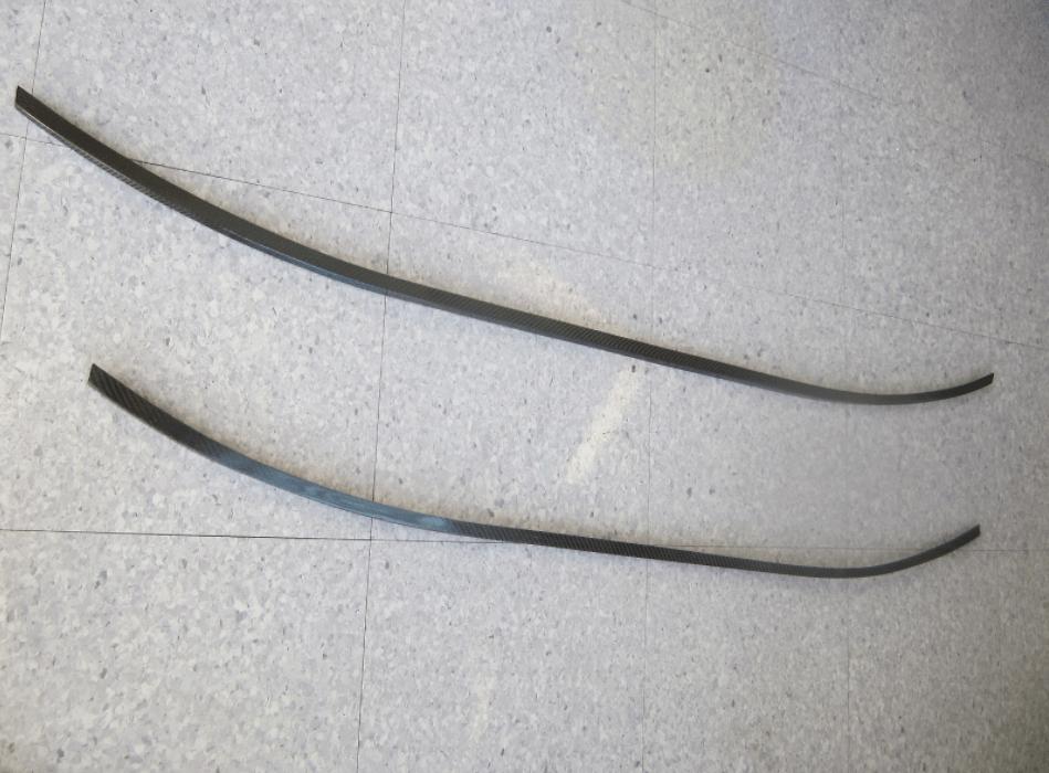 Material: Carbon - Width: 1640mm - ECGF1640