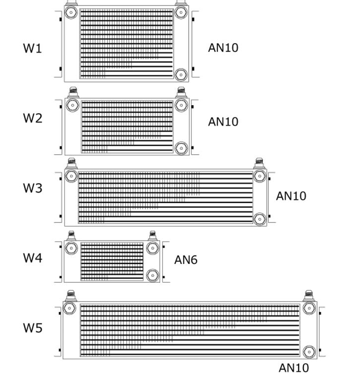HPI - Engine Oil Cooler Core