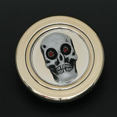Colour: Gold - Design: Skull - HK70