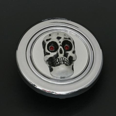 Colour: Silver - Design: Skull - HK71