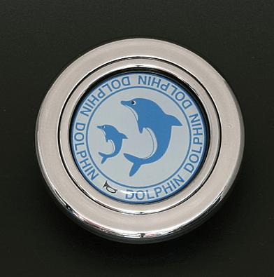 Colour: Silver - Design: Dolphin - HS51