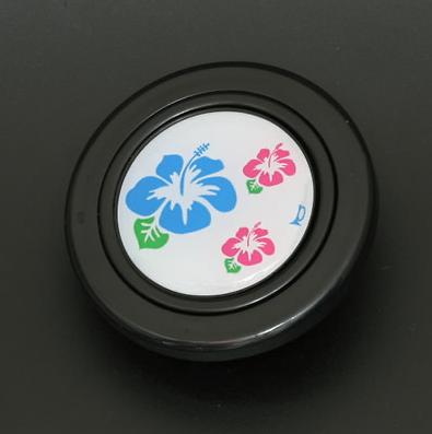 Colour: Black - Design: Hibiscus - HB50