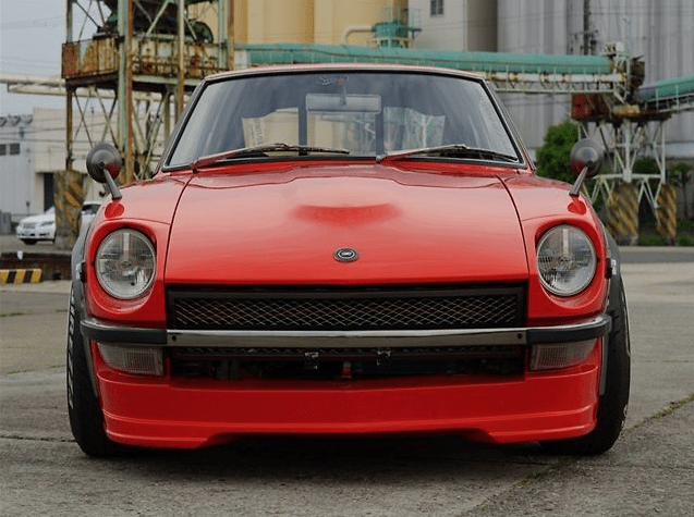 Front Spoiler - Construction: FRP - Colour: Unpainted - SF-S30Z-FSFRP