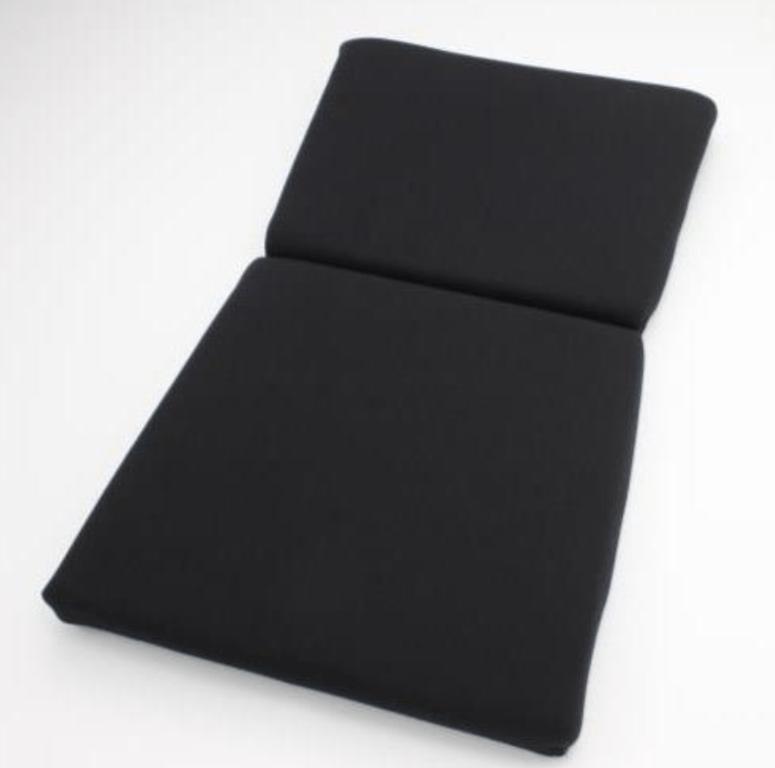 Type: Backrest - Zeta III, Exas III, Artis III, Vios III, Zieg III, Vios III REIMS, Stradia II REIMS - Color: Black - P01ACO