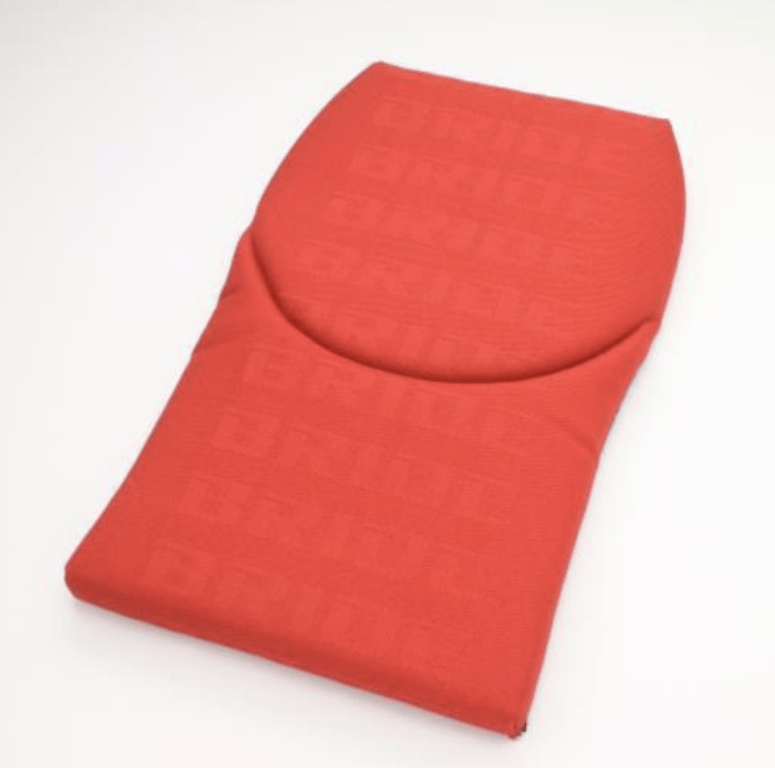 Type: Backrest - Gias II, Stradia II - Color: Red Logo - P31ICO