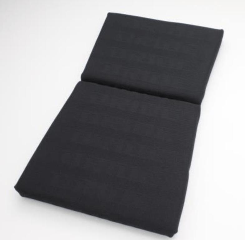 Type: Backrest - Zeta III, Exas III, Artis III, Vios III, Zieg III, Vios III REIMS, Stradia II REIMS - Color: Black Logo - P01HCO