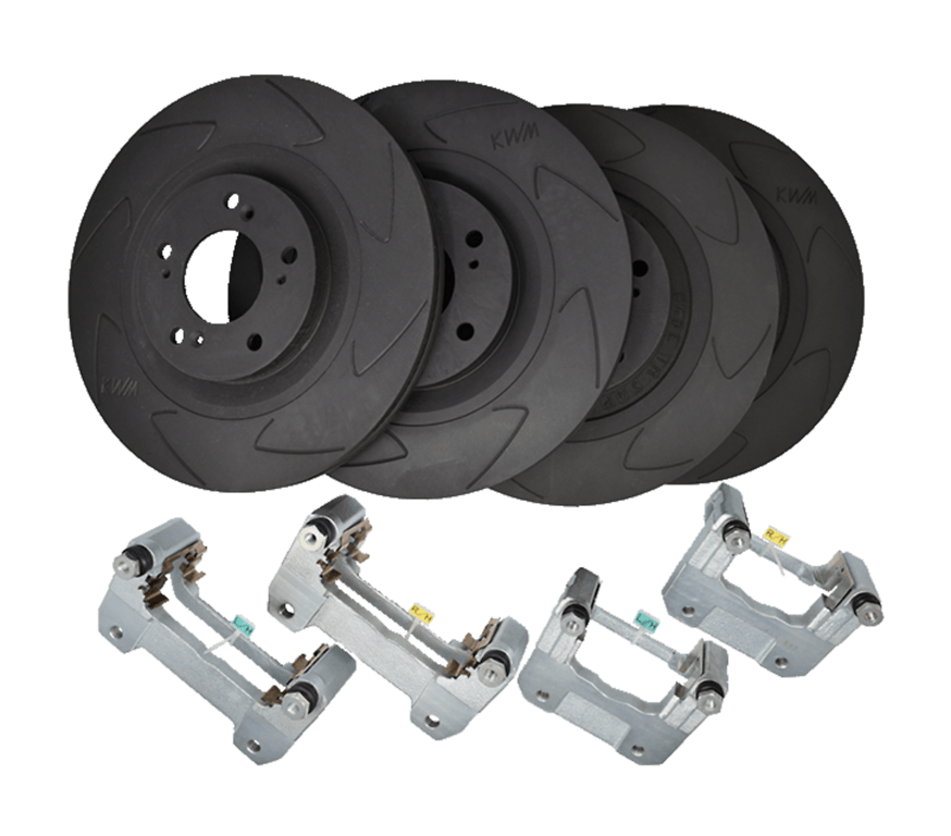 Set: Front & Rear - Rotor Size: 320mm - KBI4001